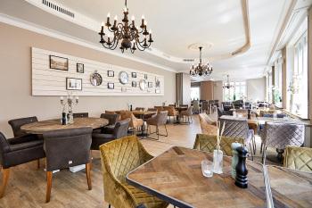 Gastraum ausgestattet mit Riviera Maison