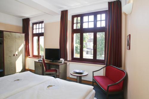 Doppelzimmer-Eigenes Badezimmer-Blick auf den Hof - Standardpreis
