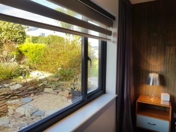 Relaxing garden views from the Main bedroom