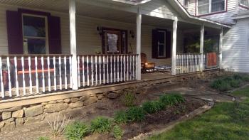 hosts' residence porch