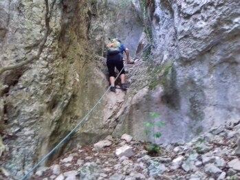 Randonnée et escalade dans les marmites
