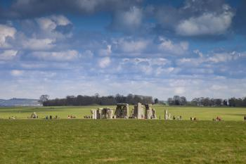Stonehenge, a 30 minute drive away