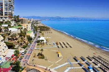Playa del Bajondillo.