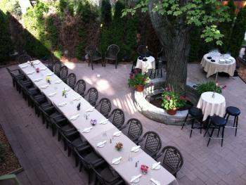Patio Private Dinner