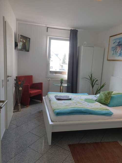 Einzelzimmer-Ensuite Dusche