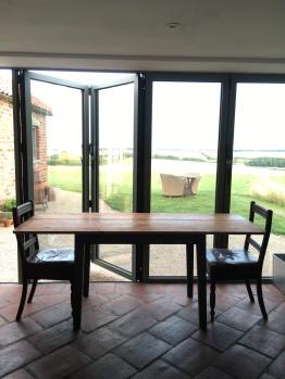 Bi-fold doors to outside