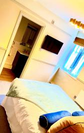 Room 5 is great for business trips or romantic breaks