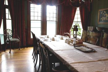 The Dining Room at The ELMS B&B
