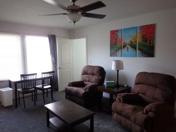 Suite 204 Living Room