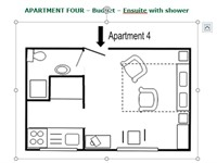 Apartment 4 - Layout