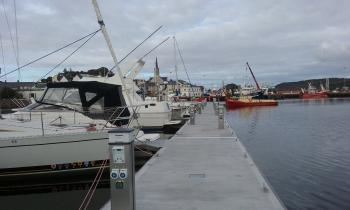 Boat marina in Killybegs