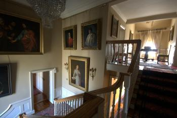 stairway in main house