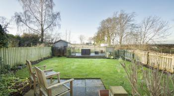 Garden with Decking with Views over St Andrews