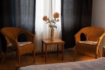 Doppelzimmer-Klassisch-Eigenes Badezimmer-Stadtblick-Doppelzimmer