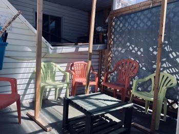 Backyard Balcony