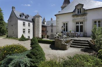Terrasse du Château de Melin