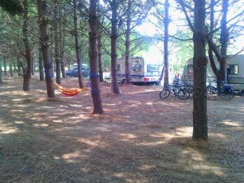 Aire de camping Mas Bazan