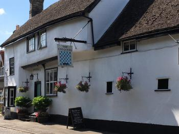 The street view of The Chequers Fowlmere