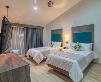 Habitacion de Lujo camas Dobles