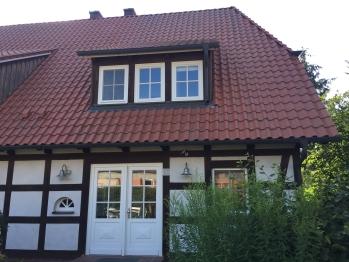 Landhaus Mohnblume - Vorderseite Eingang