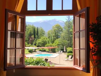 Studio Parc - Vue depuis fenêtre Sud