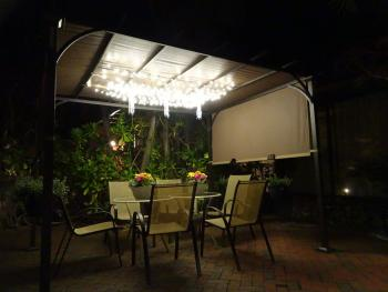 Outdoor Night Time Dining