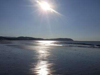 Blue Anchor Beach 5 min drive