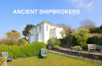 Ancient Shipbrokers - South- facing private garden.