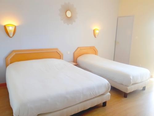 Triple-Confort-Salle de bain privée séparée-Vue sur Piscine