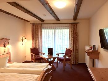 Doppelzimmer mit Samina Schlafsystem