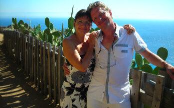 Gaby und Elmar Ober, Inhaber FeWo © Ferienwohnung Casa Belle Vacanze
