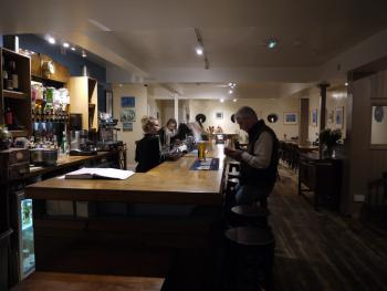 Bar area at The Pilot Boat Inn