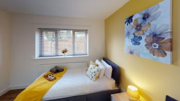 Spacious master bedroom x2 single beds also can be linked to king size upon request wardrobe, bedside cabinets and ensuite