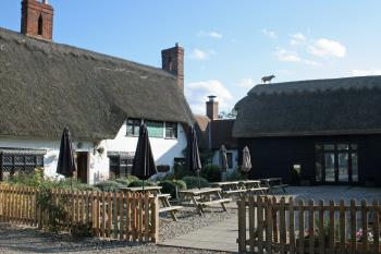 The Red Cow - The Red Cow, Thatched roof