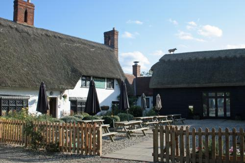 The Red Cow, Thatched roof