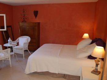 chambre couleur garance lit 160 cm