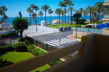 Apartamento Ana - Terraza y vistas al mar