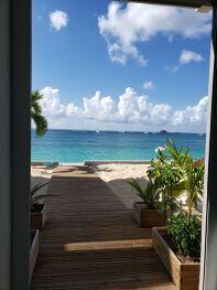accés direct à la plage porte sécurisée