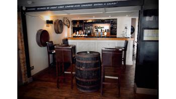 Our bar is warm and welcoming, serving a selection of local ales