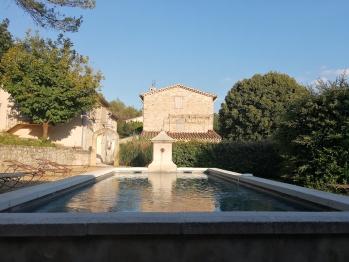 Mas en Baronnies Provençales, piscine