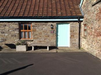 The Dairy front door