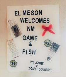 Proudly supporting our New Mexico Game and Fish Officers!