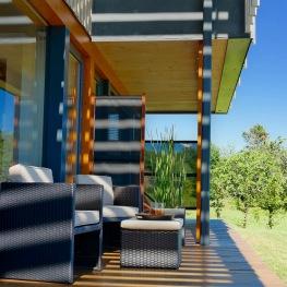 Villa lascaux - Garden side terrace