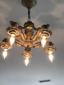 Chandelier in Henrietta Room