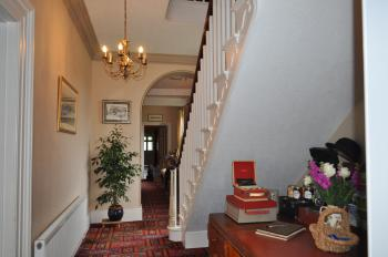The farmhouse entrance hall