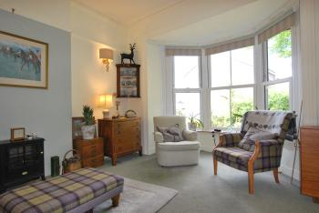 lounge looking towards bay window and garden