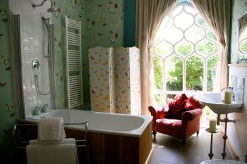 Junior suite at Augill Castle