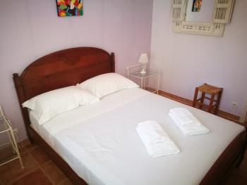 Chambre Lilas -  Lit 140x190