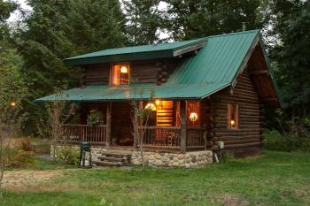 Log Cabin-Private Bathroom-Superior-Mountain View-The Log Cabin - Base Rate
