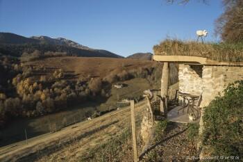 Terrasse Chalet cabane Beroy